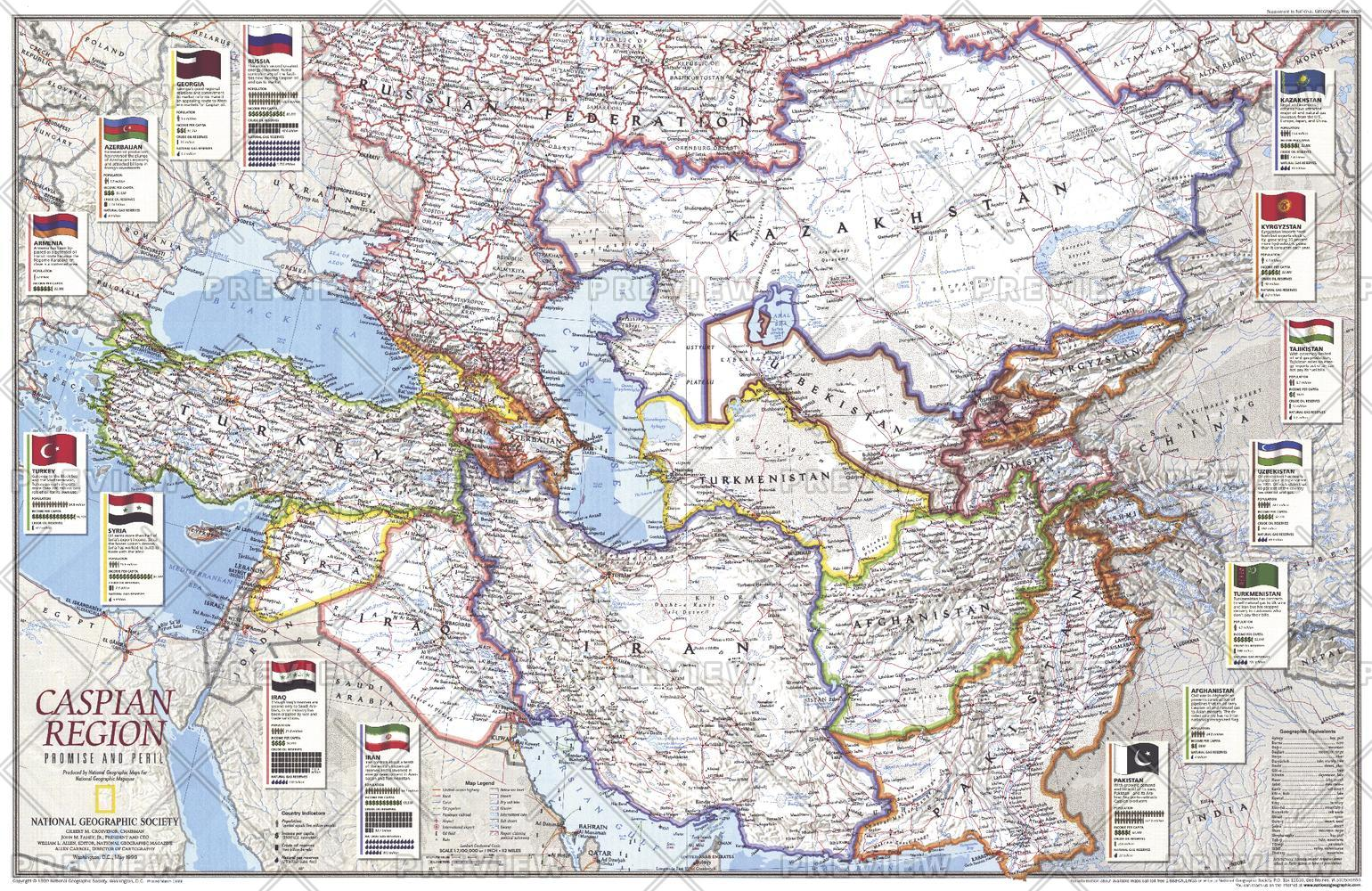 Caspian Region, Promise and Peril - Published 1999