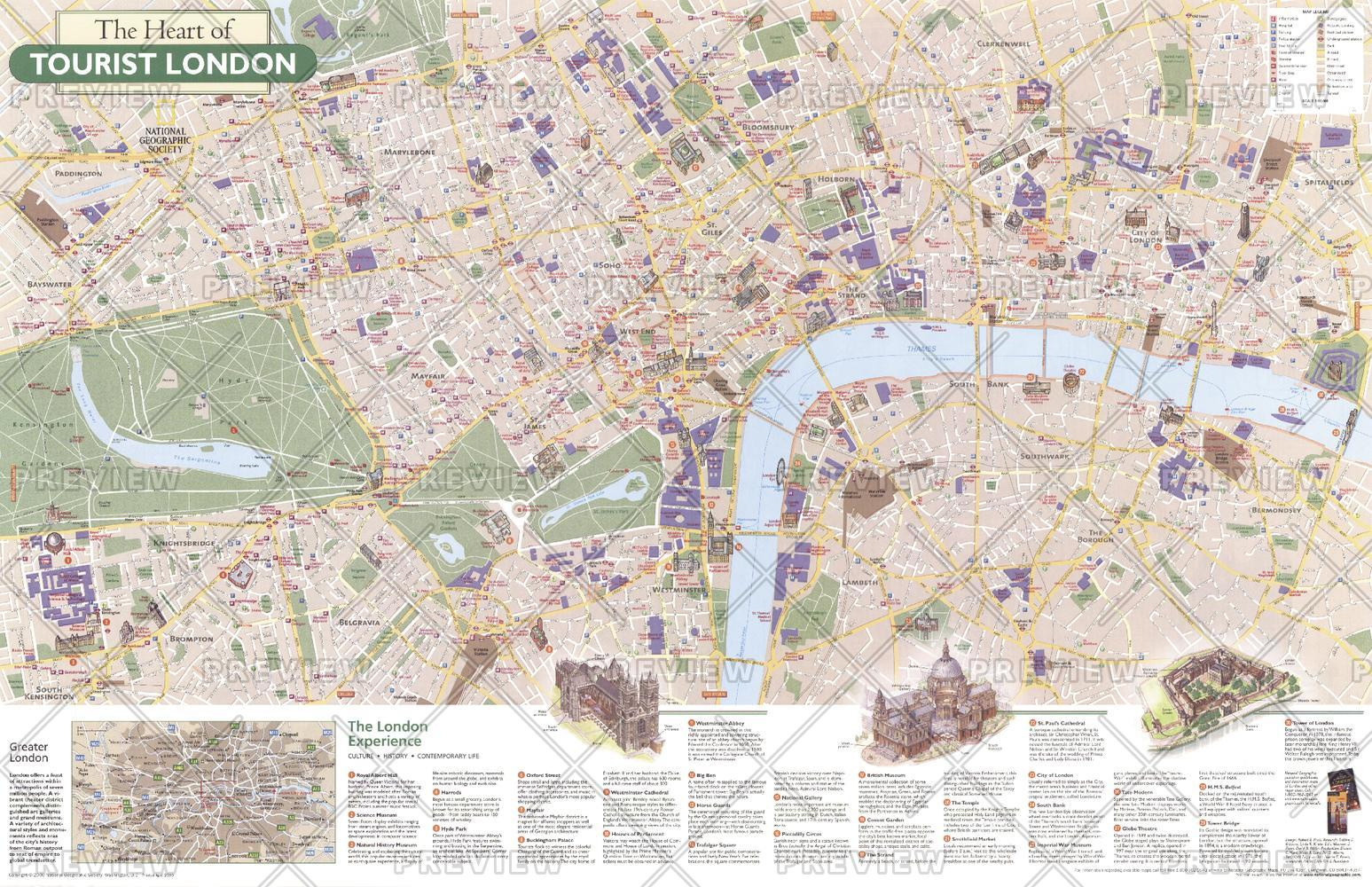 The Heart of Tourist London - Published 2000