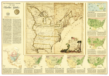 United States, Territorial Growth  -  Published 2000