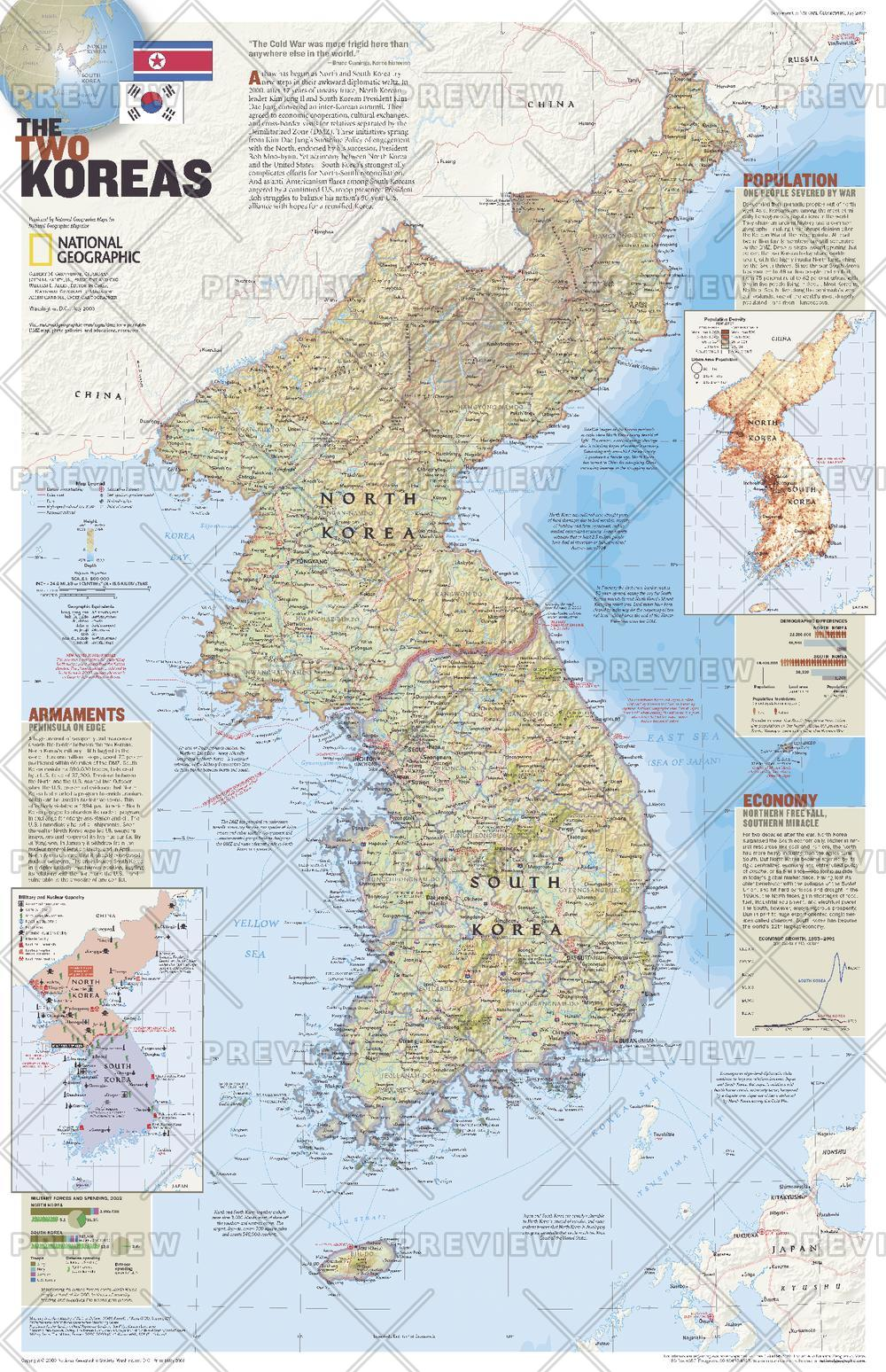 The Two Koreas - Published 2003