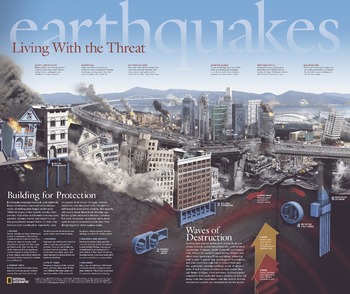 Earthquakes, Living With the Threat - Published 2006