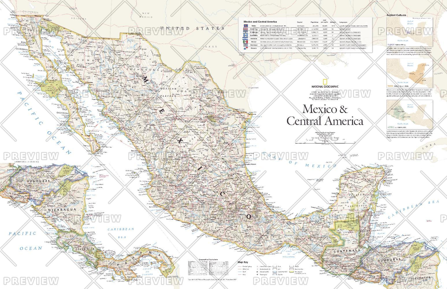 Mexico and Central America - Published 2007