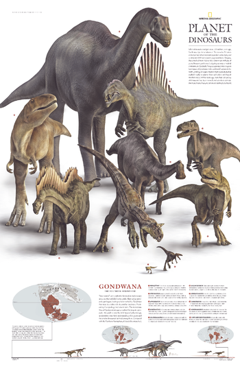 Planet of the Dinosaurs Gondwana - Published 2007