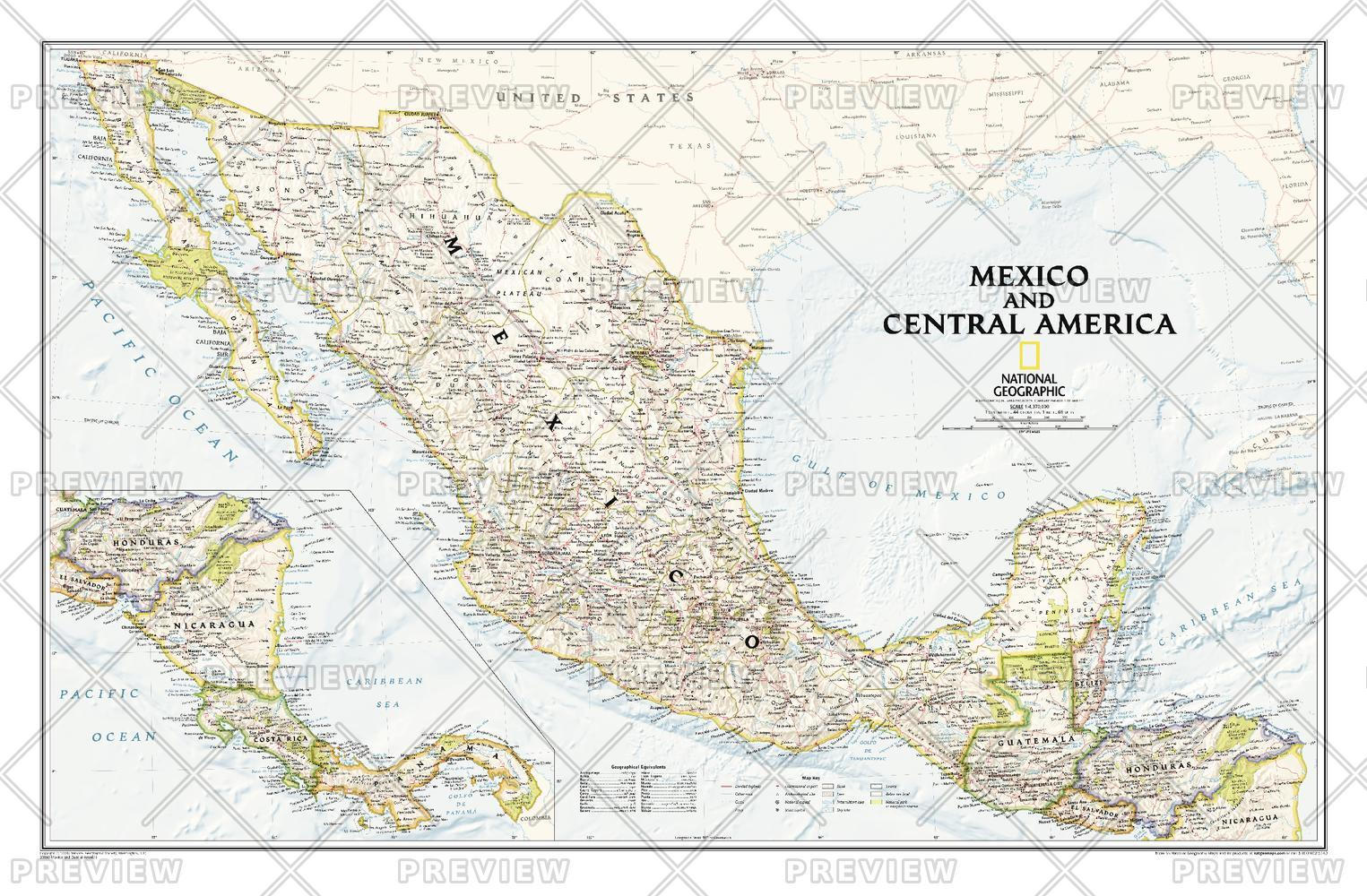 Mexico and Central America  -  Published 2008