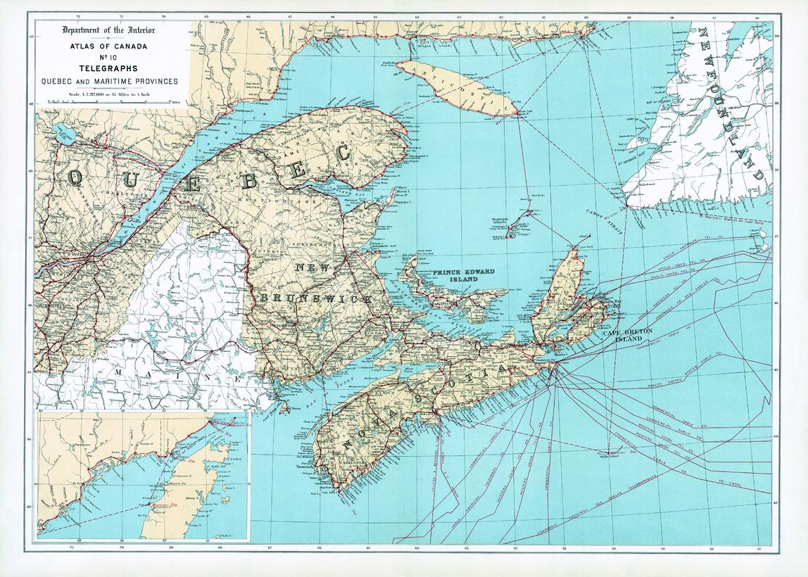 MapSherpa Natural Resources Canada Atlas of Canada Maps