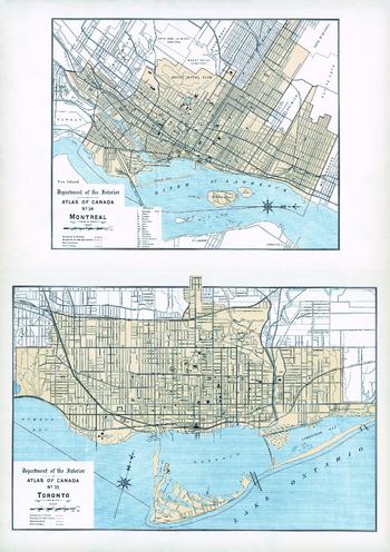 Montreal, Toronto (1906)