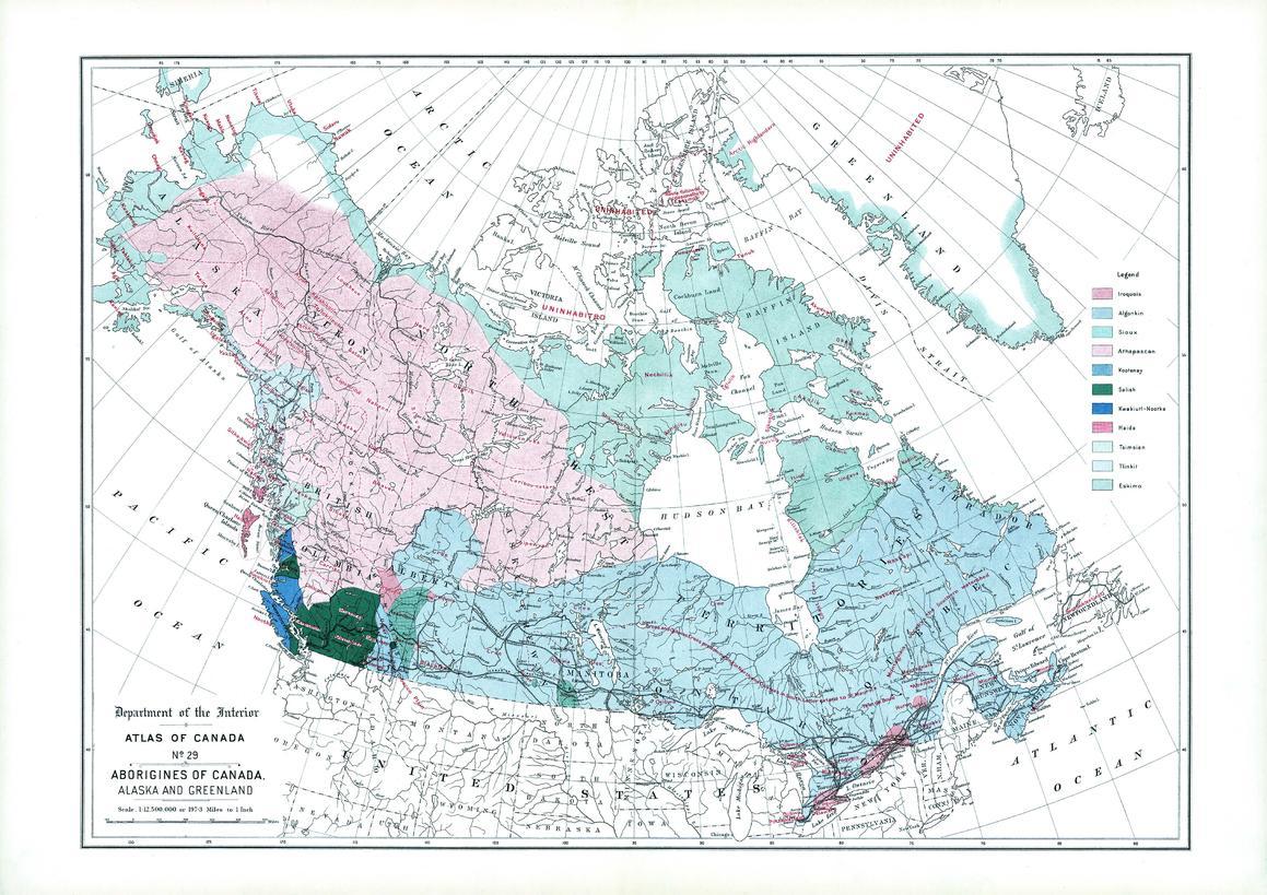 Aborigines of Canada, Alaska and Greenland (1906)