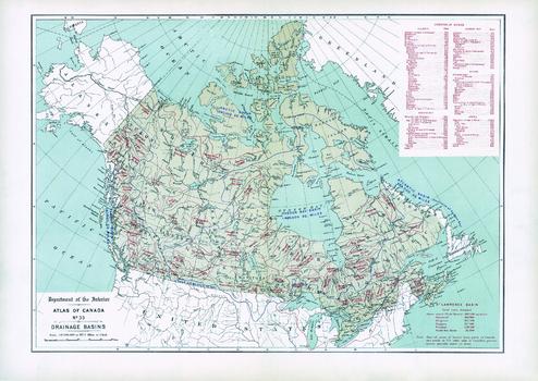 Drainage Basins (1906)