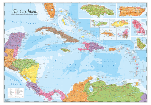 Caribbean and main islands