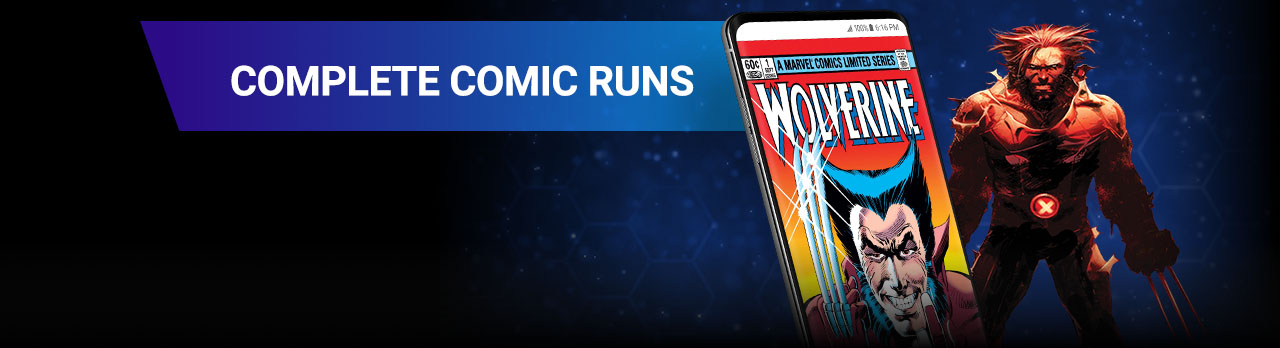 Complete comic runs. Wolverine '82 cover.