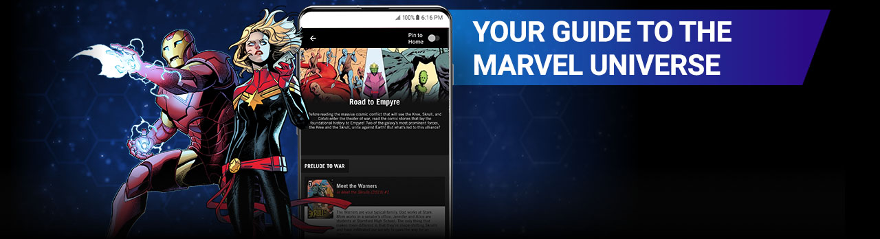 Your guide to the Marvel Universe. Quoi; Cotati