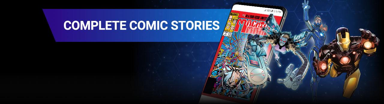 Complete stories. Machine Man, Tony Stark, Rescue.