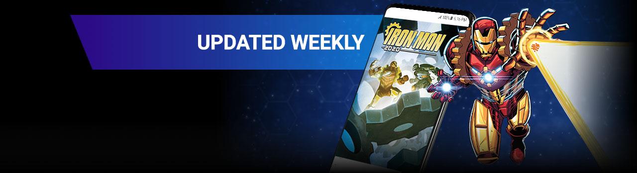 Updated Weekly. Arno Stark.