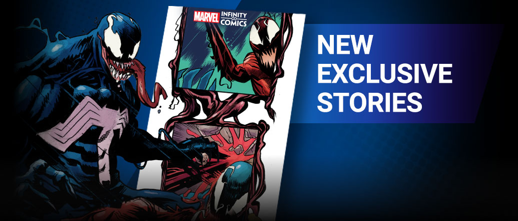 FOLLOW YOUR FAVORITES: Stay up to speed with the latest available Marvel stories across characters, series and creators! Miles Morales with the assemble your team screen from the app.