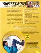 Adolescent Vaccination