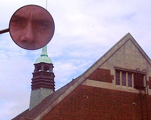 Mark Preston | me and a dreaming spire | Oxford's Town Hall roof