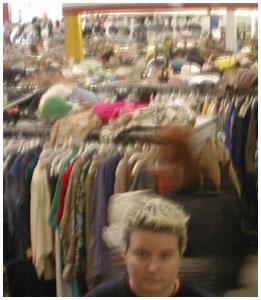 sam | hallowe'en shopping at value village. | vancouver
