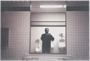 Bruce | The men's room at Northampton High School