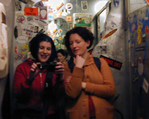 Rachel | Bottom of the Hill bathroom, SF