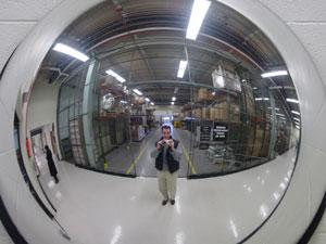 Steve Agalloco | At the warehouse