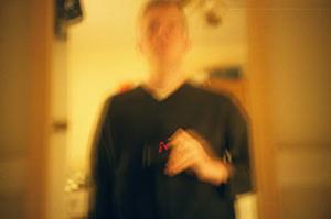 Brian Short | blurry blurry me.jpg | my kitchen