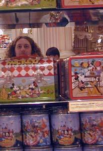 Charles Wilson | candystore mirror | Disneyland