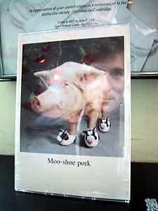Karl Dubost | Moo-Shoe Pork | Boston, USA