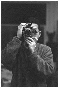 "Christopher Chen | Self Portrait With Contax IIa ""Color Dial"" and 440 Multifinder (c. 1955)"