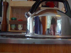 Wouter Demuynck | Whistling kettle inside caravan