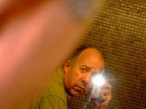 Frank Petronio | Mirror self portrait | Hull, Quebec