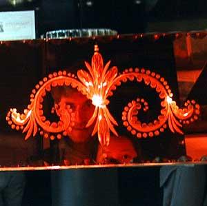 Karl Dubost | Red mirror - Diem and me | Paris, France