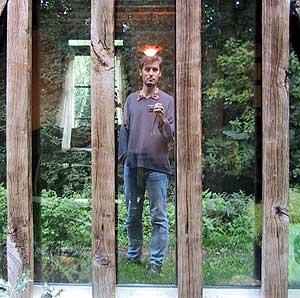 Karl Dubost | Miroir � la grange | La Saussaye, France