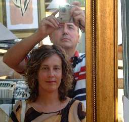 Mikel Agirregabiria | My wife Carmen and me | Alicante, Spain