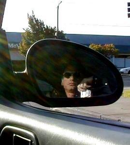 Thom | Check Mirror | WhiteCloud's car in San Jose