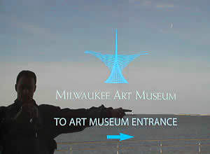 Brian Sienko | That-a-Way! | Milwaukee Art Museum, Milwaukee, WI