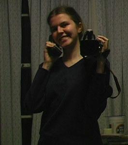Rachel Rein | on the phone | my bedroom, my father's house, Santa Monica, California, USA