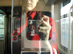 Lacey | A double self-portrait on the L | Chicago, IL