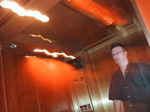 ed hawco (blork) | Elevator ride | Montreal, Quebec, Canada
