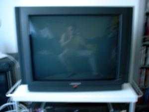 Pat   My 2 seconds on TV