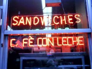 Erica Jackson | Cafe Con Leche | New York, NY