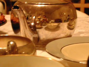 Jonah Manning | Thanksgiving Tea Pot | Santa Barbara, Ca