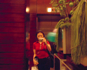 Lynn | waiting for an elevator... | philippines