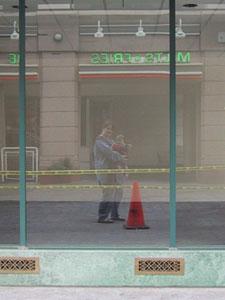 Aimee | Caution tape | San Jose, California
