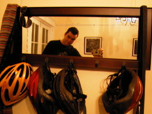 Trevor Smith | Helmet Mirror Morning | San Francisco, CA