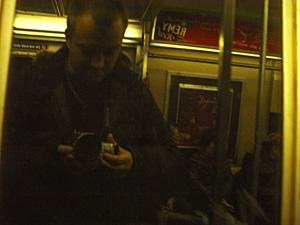 jeffrey | mass transit and me | F train-NYC