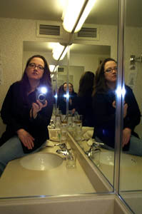 Rebecca | what is it with hotel mirrors? | portland