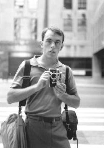 Malcolm Dickinson | Self-Portrait with Leica | Chicago, IL