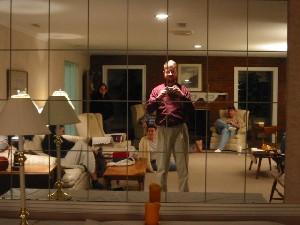 Jason Garrett | mirrored wall | Westerville, OH