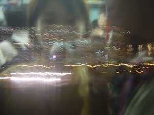 Faye Lo | Night in train | Hong Kong