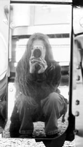 Lizz   My Reflection In Booskie's Truck   Long Island, NY